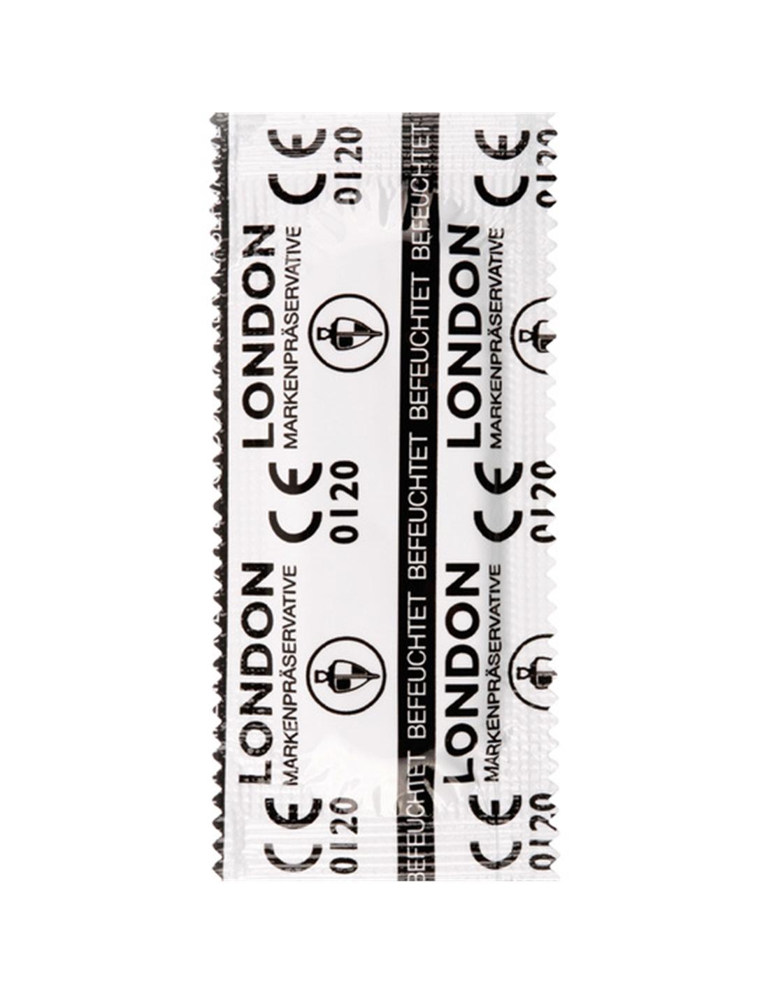 Preservativos London wet - 100 Unidades - DO29002597