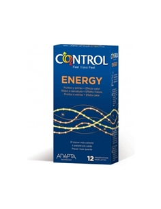 Preservativos Control Energy 12 Unidades - PR2010348135